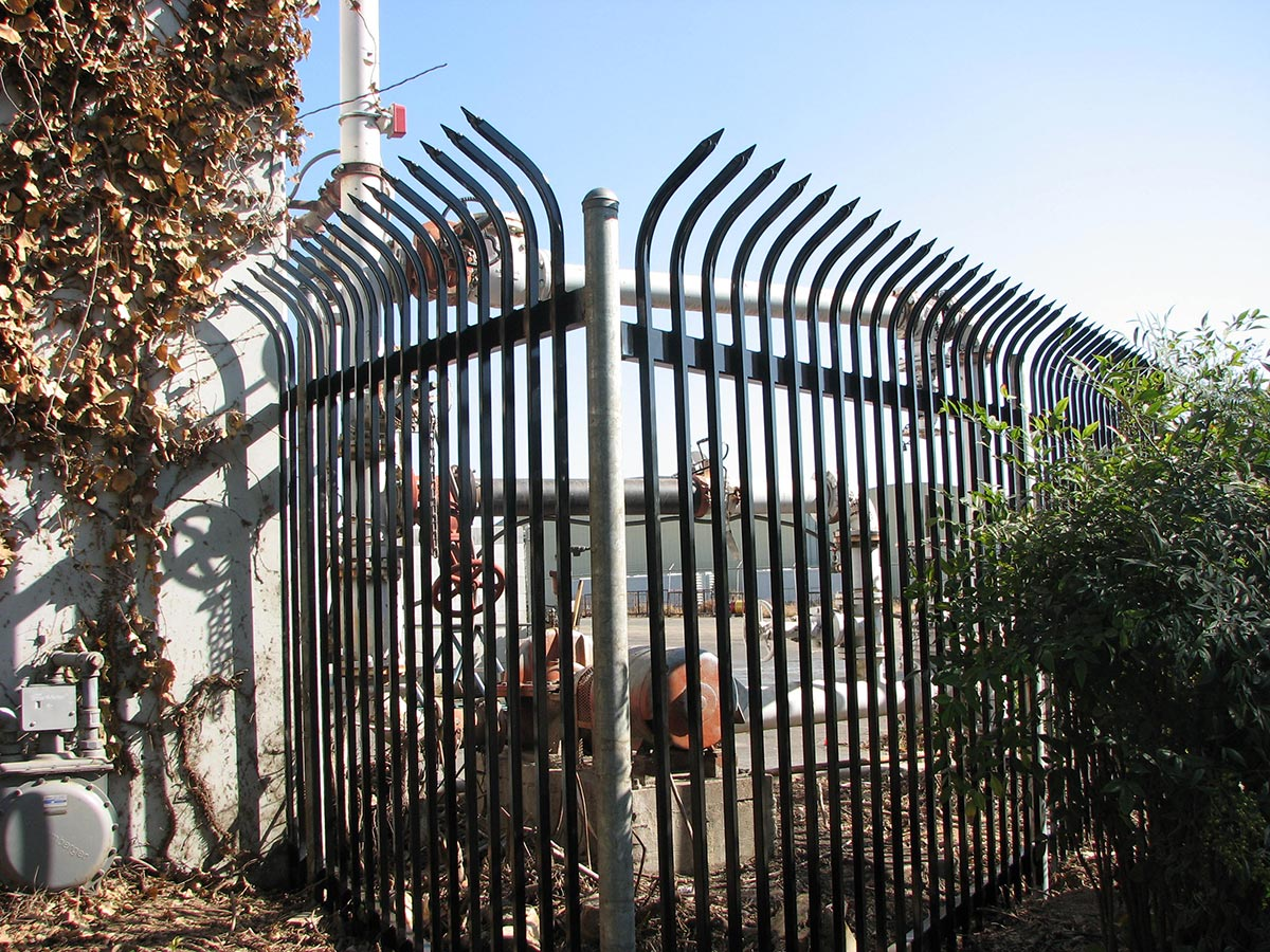 Fences Industrial Fresno Fence Connection