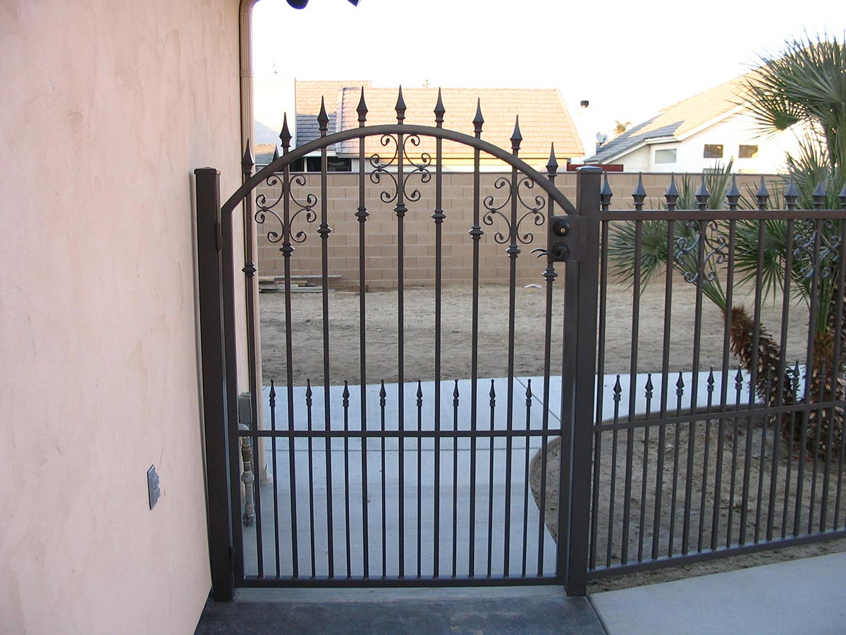 Side Yard Gates Fresno Fence Connection